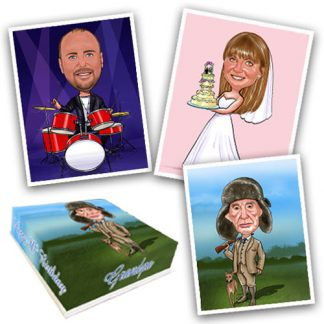buy edible caricatures