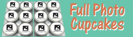 Full photo upload cupcakes