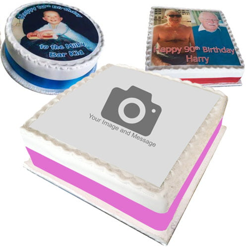 photo cake product image
