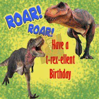 dinosaur Custom cake topper