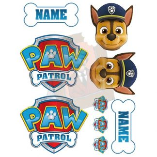 edible paw patrol set