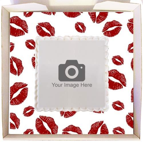 Kisses Gift Cake Frame