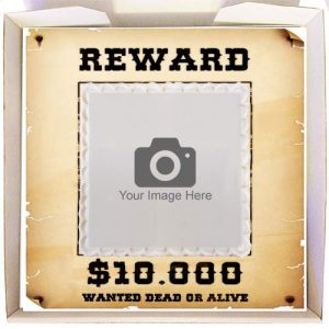 Gift Cake Wanted Poster