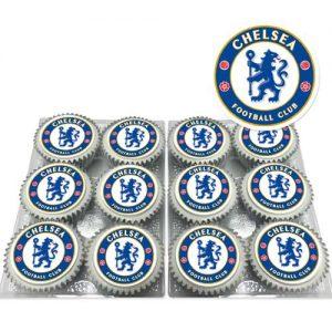 Chelsea FC Cupcakes