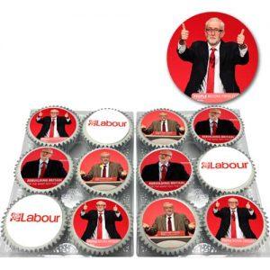 Jeremy Corbyn Cupcakes