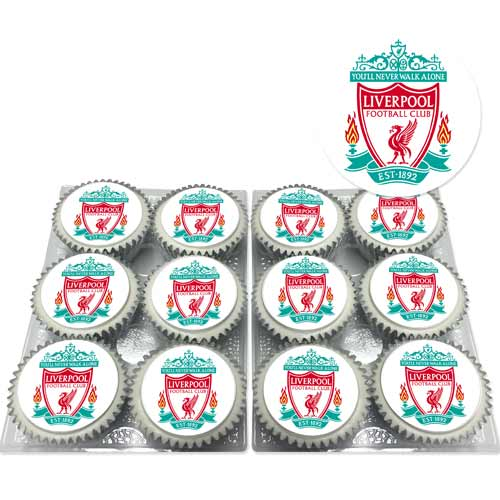 liverpool fc cupcakes