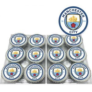Manchester City Cupcakes