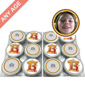 Any Age Birthday Cupcakes